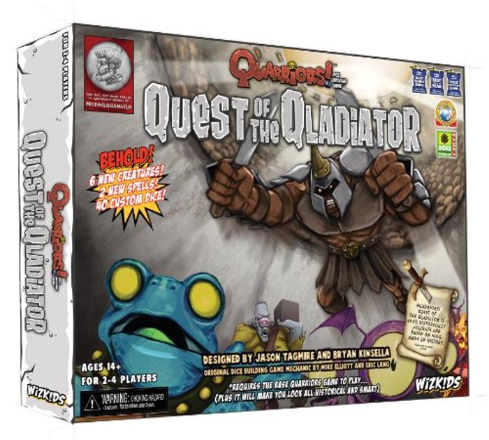 Quarriors! Quest of the Qladiator Expansion