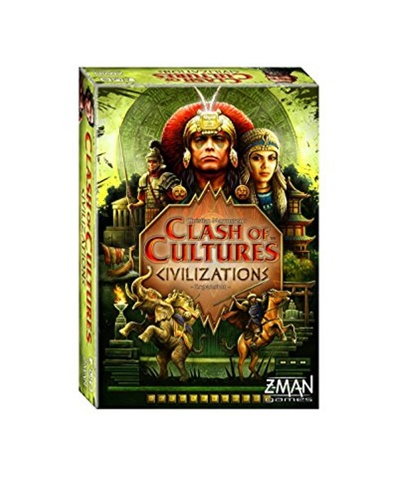 Clash of Cultures Civilizations Board Game