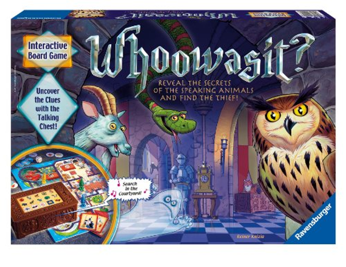 Ravensburger Whoowasit? Award-Winning Board Game Electronics