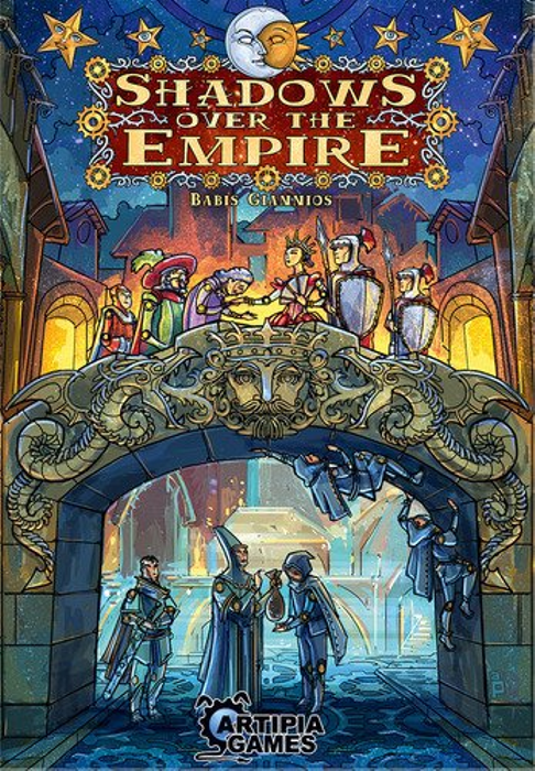 Artipiagames Shadows Over The Empire Board Game