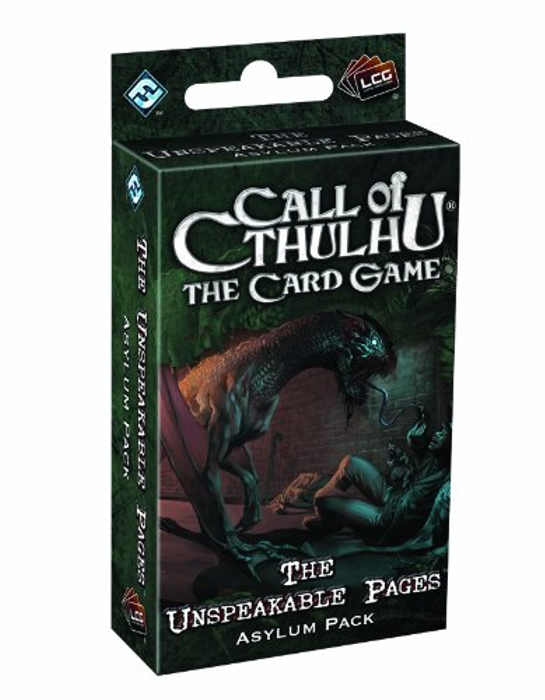 Call of Cthulhu: The Card Game - The Unspeakable Pages Asylum Pack