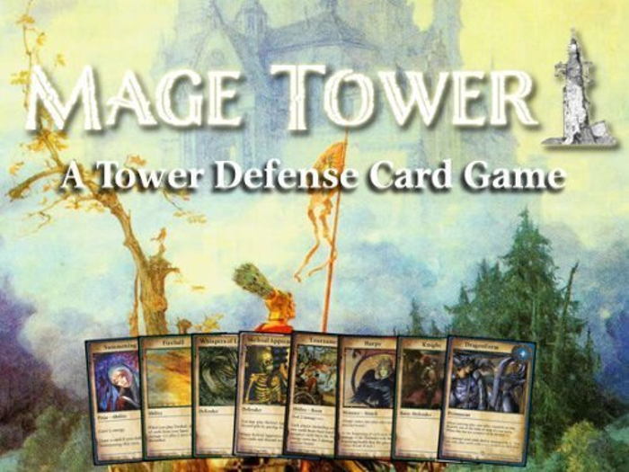 Mage Tower: A Tower Defense Card Game
