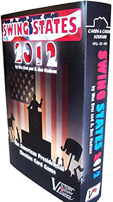 Swing States 2012: The American Presidential Election - Solitaire Boxed Board Game