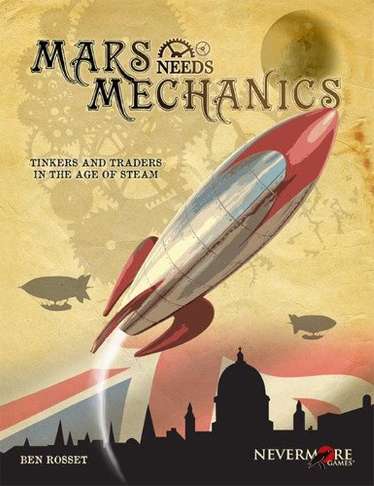 Mars Needs Mechanics Board Game