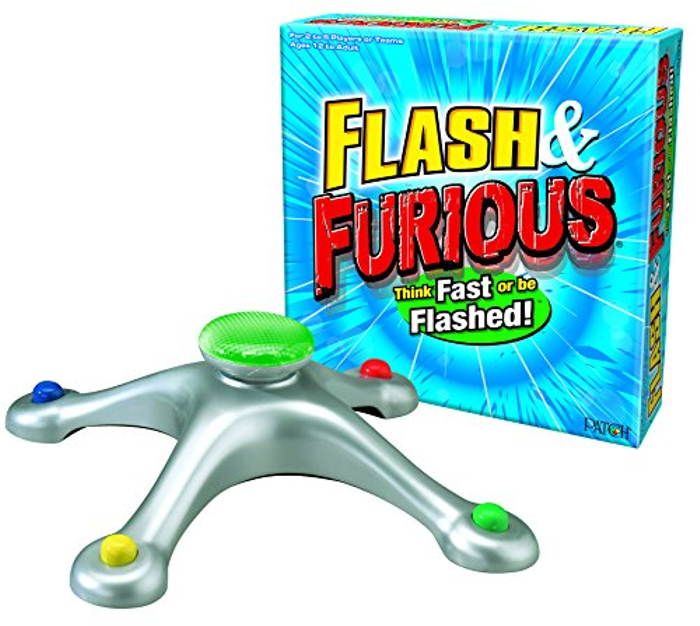 Inc. Flash and Furious Word Board Game