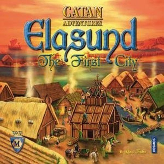 Mayfair Games Catan Adventures: Elasund - The First City