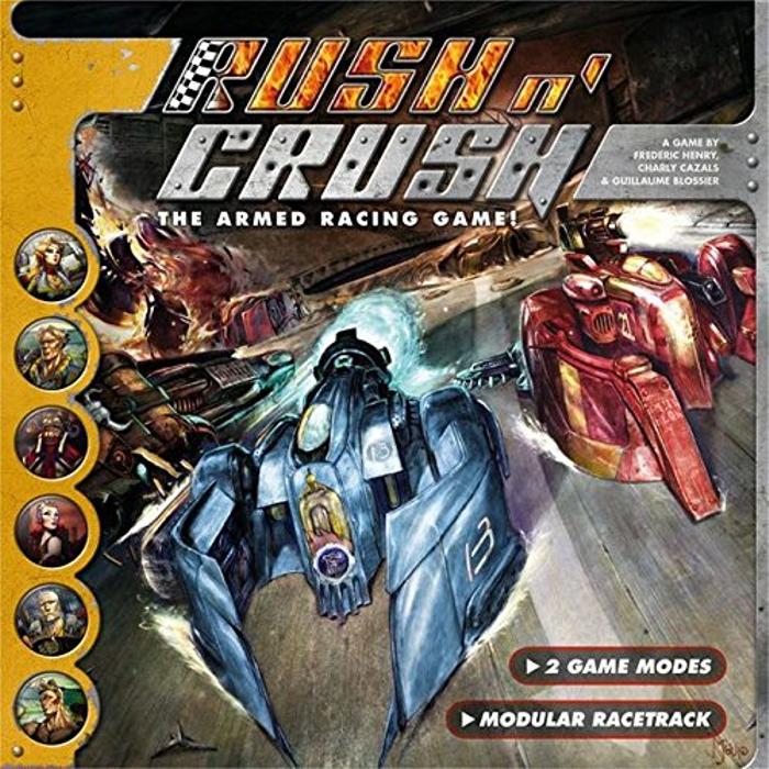 AEG Rush and Crush Board Games