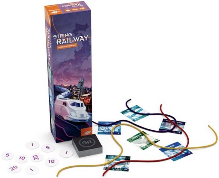 String Railway Game