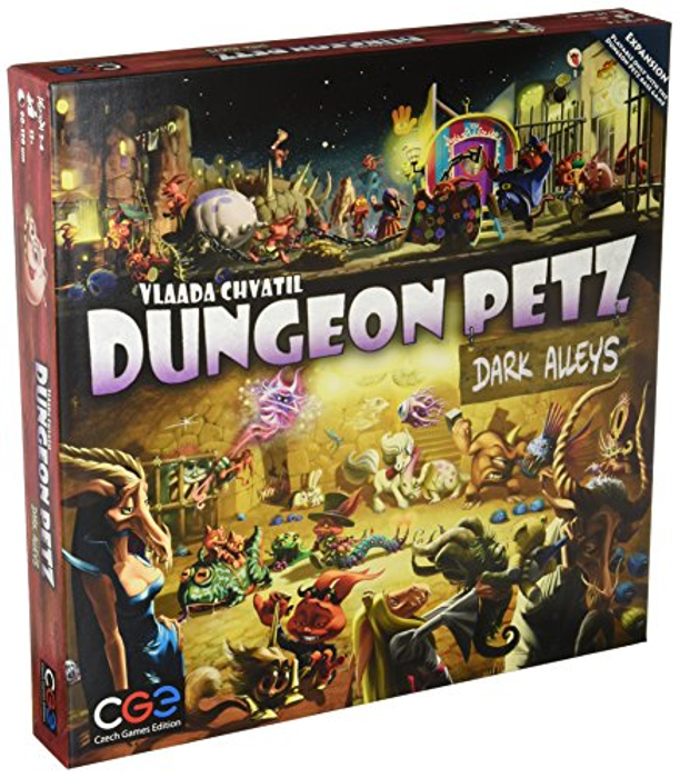 Dungeon Petz Dark Alleys Board Game