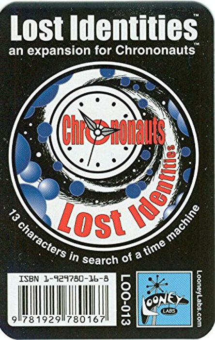 Chrononauts: Lost Identities Expansion