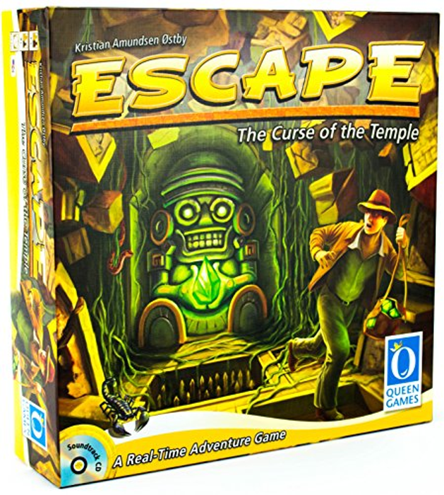Escape: The Curse of the Temple Board Game