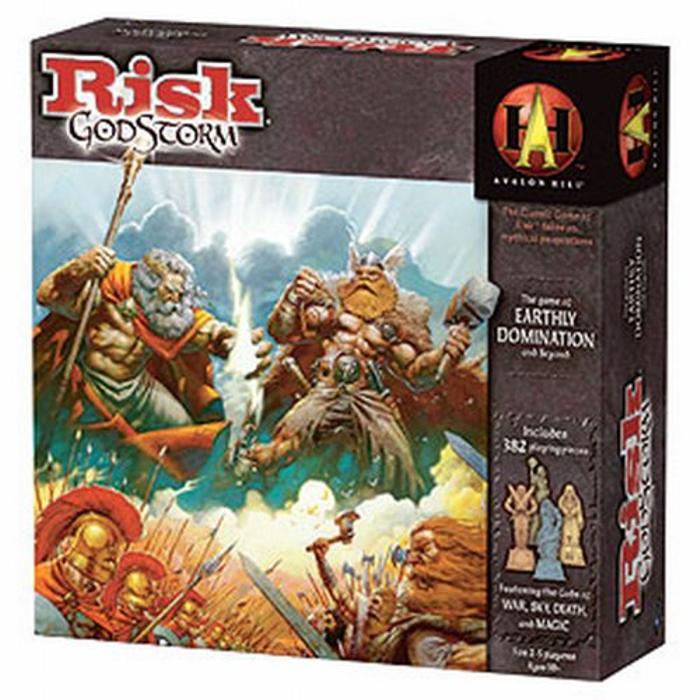 Risk GodStorm Board Game