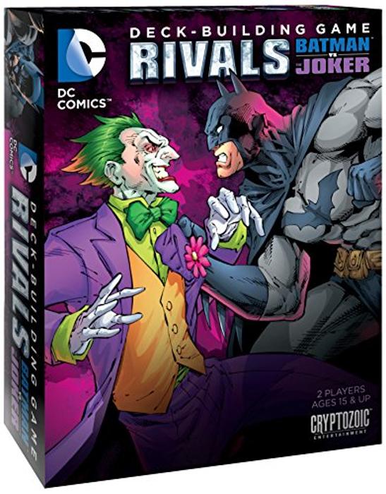 DC Deck-Building Game: Rivals - Batman vs The Joker