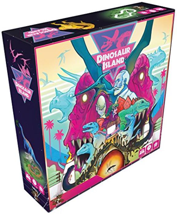 Dinosaur Island | Board Game Atlas