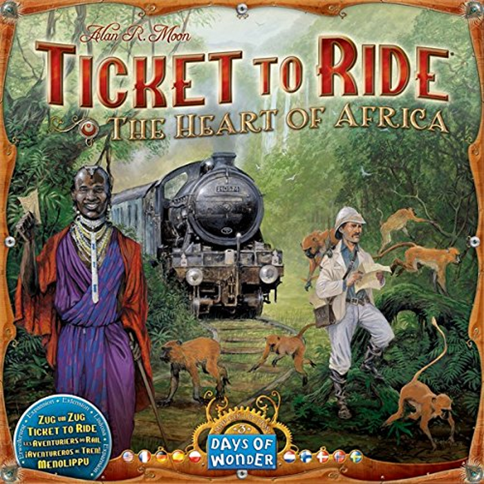 Ticket to Ride: Map Collection Volume 3 - The Heart of Africa