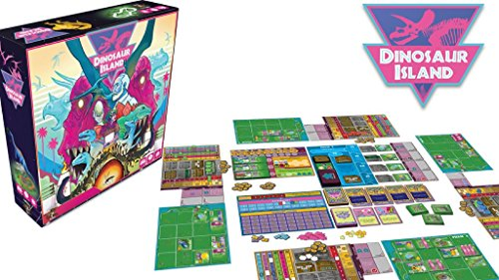 Dinosaur Island   Board Game Atlas