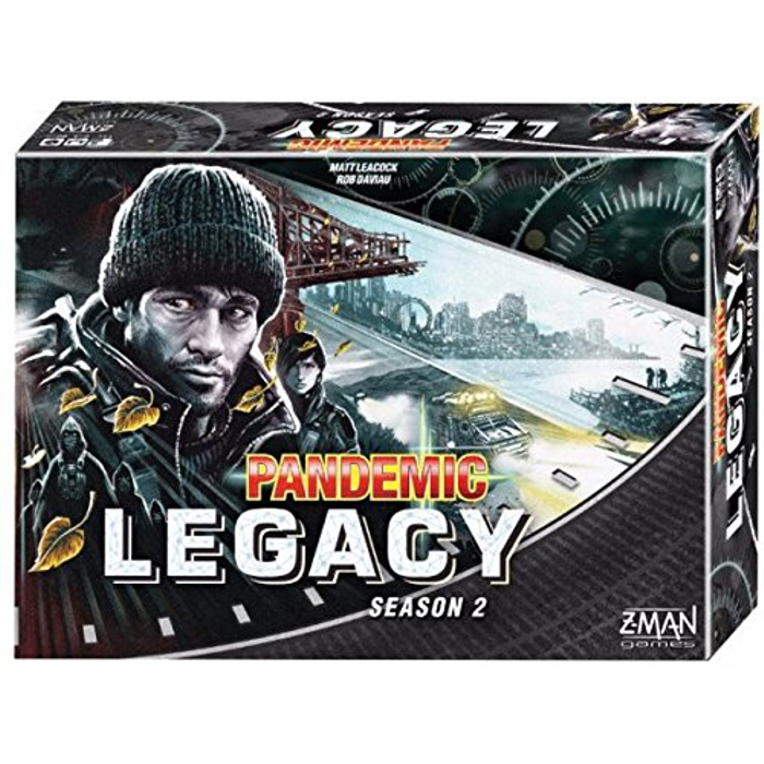 Pandemic: Legacy Season 2 (Black Edition)