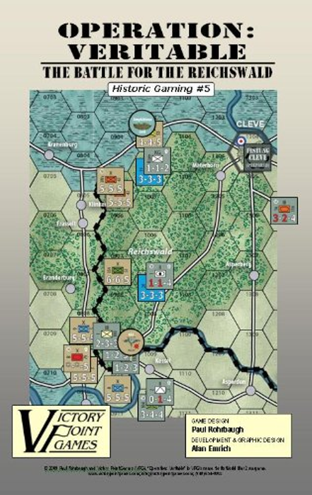 Operation Veritable - Battle for the Reichswald: Feb. - Mar. 1945 War Board Game