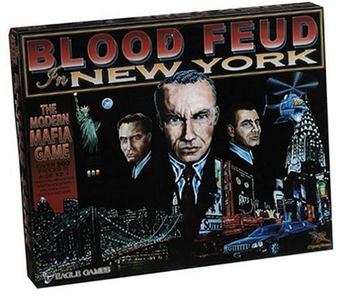 Blood Feud In New York Board Game