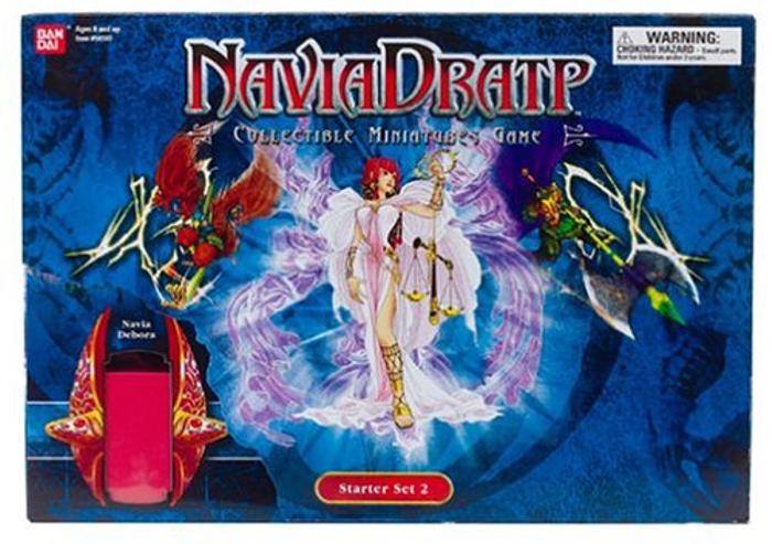 Navia Dratp Collectible Miniatures Game Starter Set 2