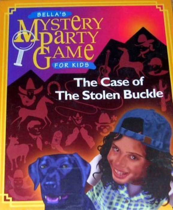 Bella's Mystery Party Game for Kids - The Case of the Stolen Buckle