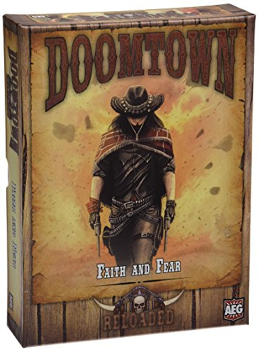 Doomtown Reloaded Faith and Fear Board Game