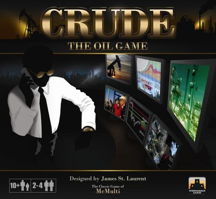Stronghold Games Crude The Oil Game
