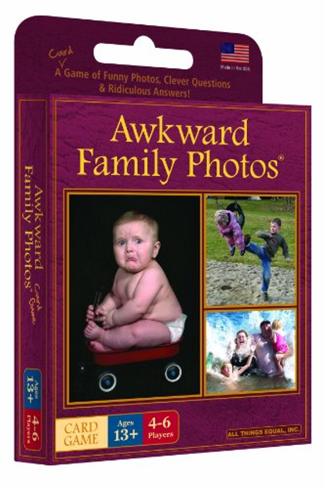 Awkward Family Photo Card Game