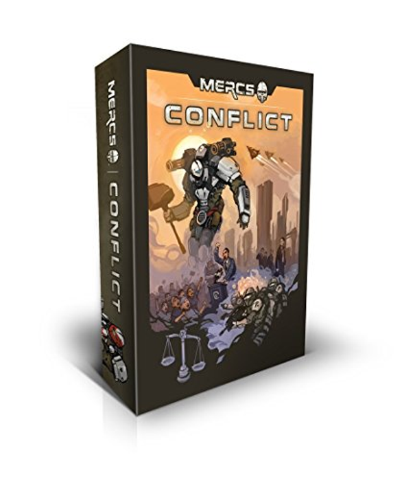 Mercs: Conflict (dice Game) - Game