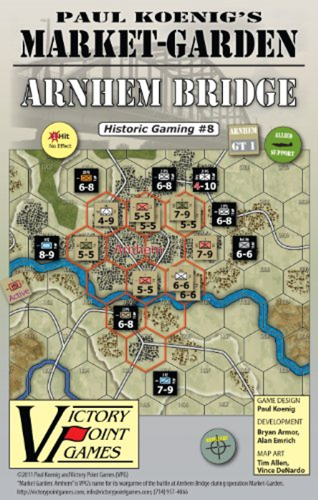 Paul Koenig's Market Garden: Arnhem - Sept. 17-19, 1944 WW2 War Board Game