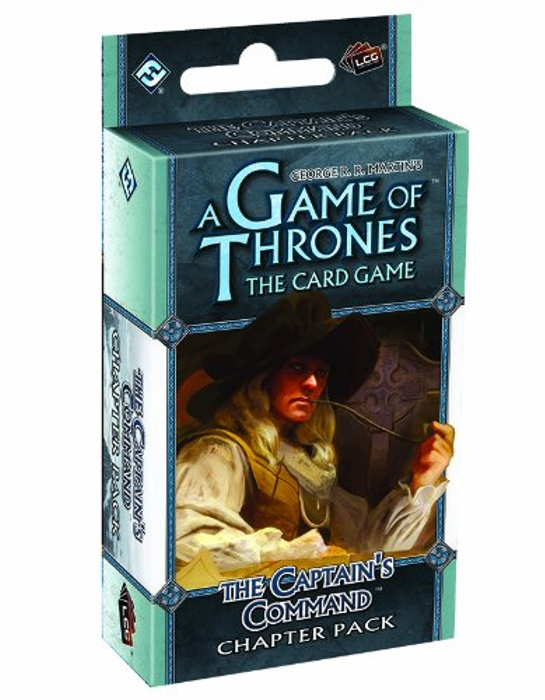 Fantasy Flight Games A Game of Thrones: The Card Game - The Captain's Command Chapter Pack