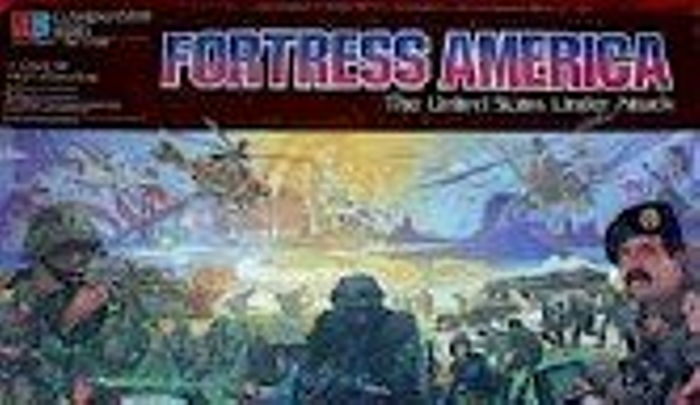 Fortress America - The United States Under Attack: A Board Game of High Adventure