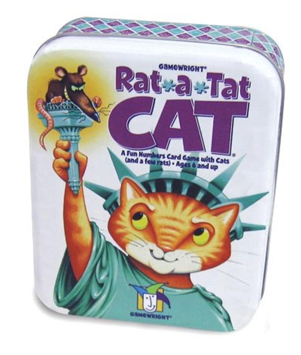Rat-A-Tat Cat Collectible Tin