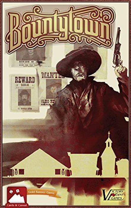 Bountytown - Western-themed Boxed Board Game