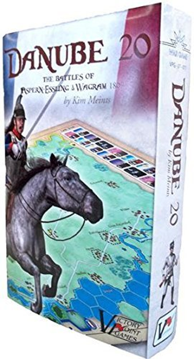 Danube 20: The Battles of Aspern-Essling and Wagram 1809 - Napoleonic War Boxed Board Game