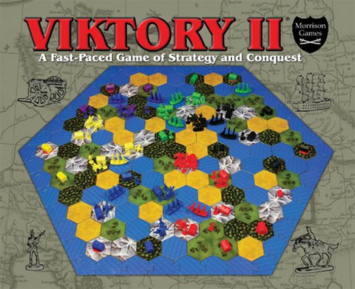 VIKTORY II: A Fast-Paced Game of Strategy and Conquest by