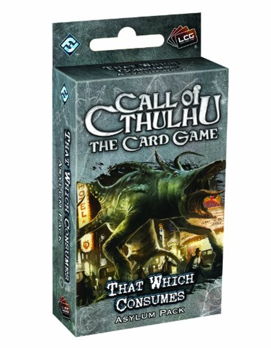 Call Of Cthulhu: The Card Game - That Which Consumes Asylum Pack