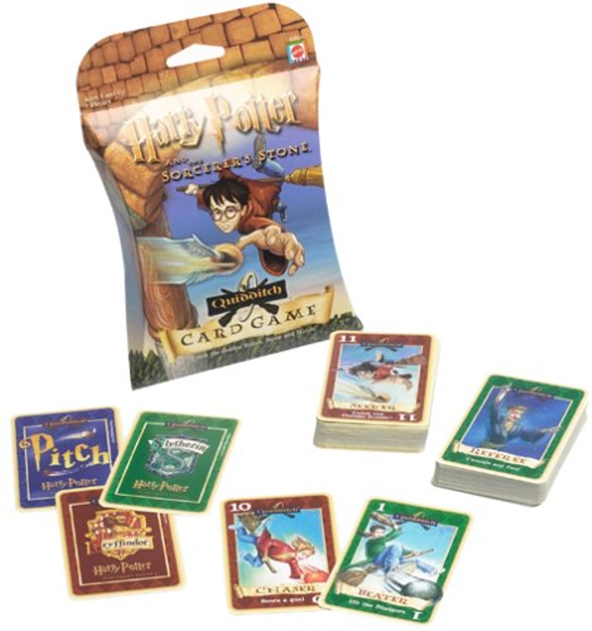 Harry Potter and the Sorcerer's Stone Quidditch Card Game