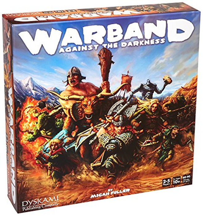 Warband Against the Darkness Board Game