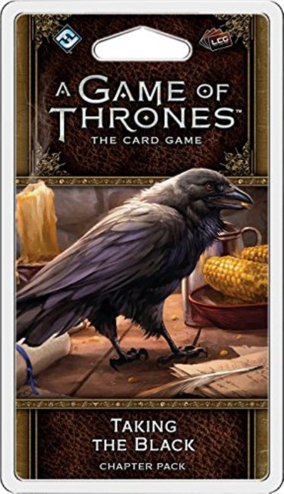 Fantasy Flight Games A Game of Thrones: The Card Game 2nd Edition - Taking the Black Chapter Pack