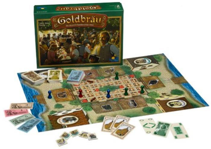 Goldbrau Board Game