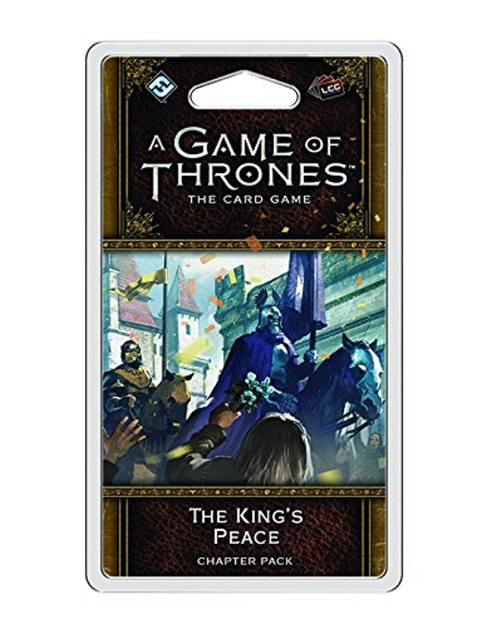 A Game of Thrones: The Card Game 2nd Edition- The King's Peace Chapter Pack