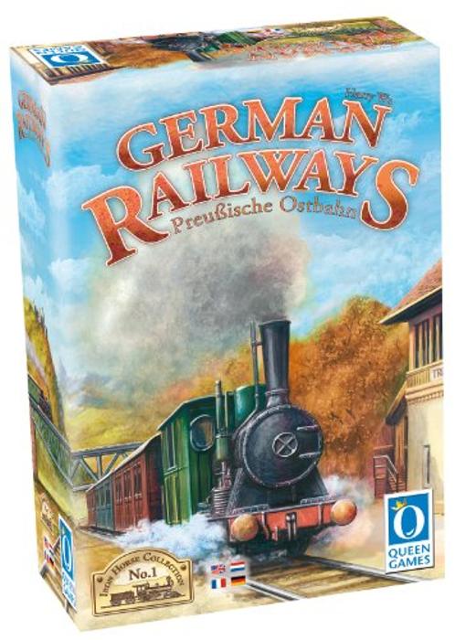 Queen Games German Railways Multi Language Board Game