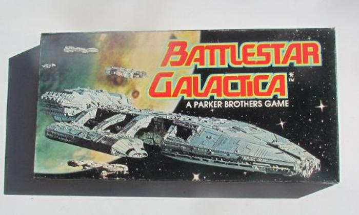 Vintage Battlestar Galactica Board Game 1978
