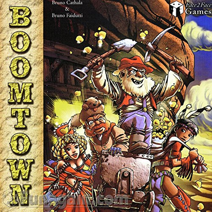 Boomtown Board Game
