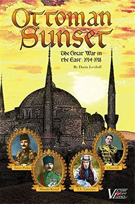 Ottoman Sunset: The Great War in the East, 1914 - 1918 Solitaire Boxed Board Game