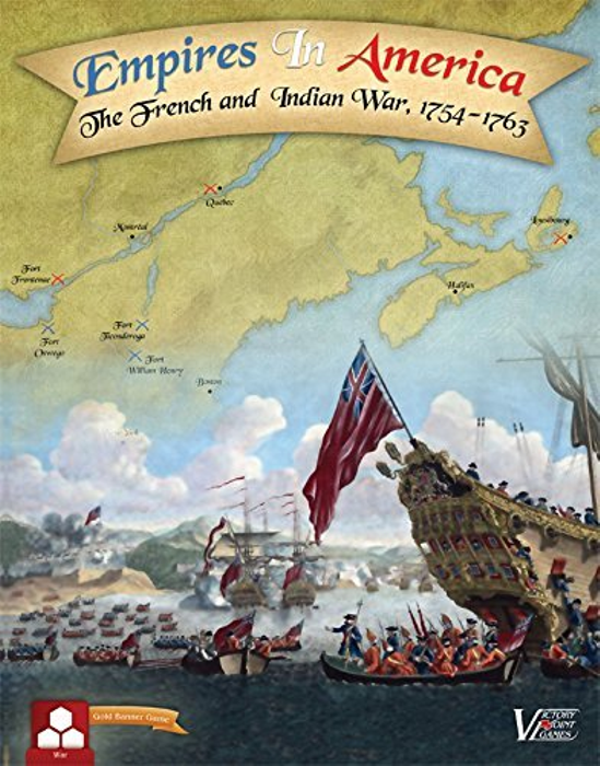 Empires in America Second Edition - The French and Indian War Boxed Board Game