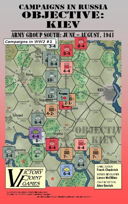 Objective: Kiev The Advance of Army Group South: June - Aug, 1941 War Board Game