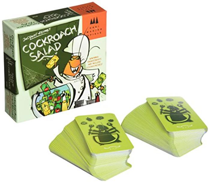 Schmidt Cockroach Salad Card Game