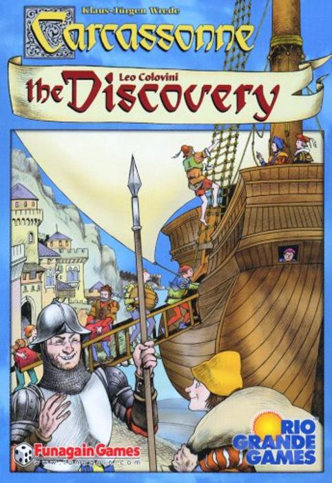 Rio Grande Games Carcassonne Discovery